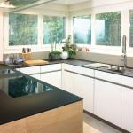 Küchenabdeckung aus Glas