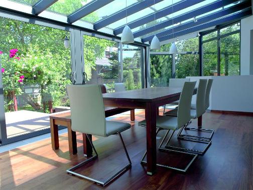 Sitzplatzverglasung und Wintergarten als Wohnraum