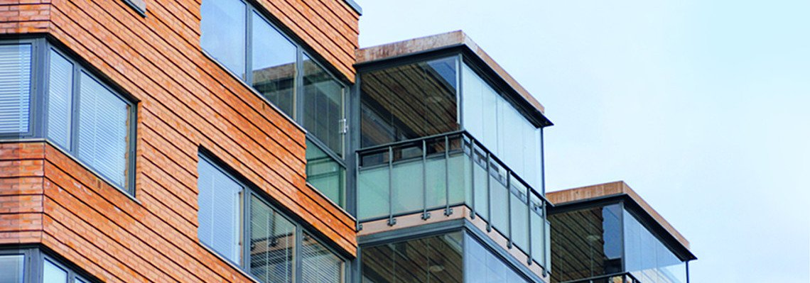 Balkonverglasung durch unsere Glaserei