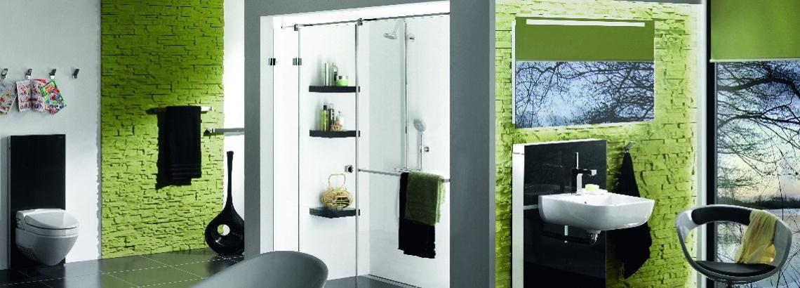 Duschen aus Glas