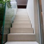 Treppengeländer mit Punkthalter